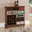 Coast to Coast Imports LLC Credenza with 16 Bottle Wine Storage