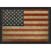 The Artwork Factory American Flag III Framed Graphic Art