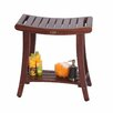 Decoteak Harmony Teak Asian Shower Bench