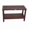 Decoteak Espalier Teak Shower Bench
