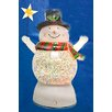 Sienna Lighting Battery Operated Led Lighted Color-Changing Snowman Christmas Decoration