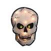 Sienna Lighting Holographic Skull Halloween Window Silhouette Decoration