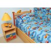 Room Magic Boys Like Trucks Twin Comforter / Bedskirt / Sham Set