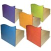 "Room Magic Tropical Storage 14"" Bookcase (Set of 5)"