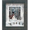 Artistic Reflections Snowball Fight Framed Painting Prints