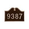 Montague Metal Products Inc. Hillsdale Petite Address Sign