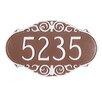 Montague Metal Products Inc. Victorian Address Plaque