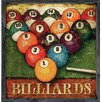 Forest Creations Magnet Art Print Billiards Framed Wall Art