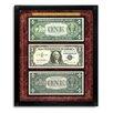 American Coin Treasures Motto No Motto Currency Collection Wall Framed Memorabilia