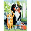 Royal & Langnickel Painting by Numbers Small Family Pets Junior Set (Set of 3)