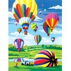 Royal & Langnickel Painting by Numbers Small Hot Air Balloon Junior  Set (Set of 3)