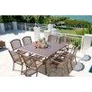 Panama Jack Outdoor Island Breeze 9 Piece Dining Set