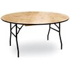 "McCourt Manufacturing ProRent 60"" Round Folding Table (Set of 5)"