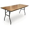 McCourt Manufacturing ProRent Rectangular Folding Table (Set of 5)
