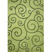 James Bond Alliyah Sarah Scrolls Green Area Rug