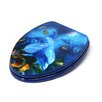 Topseat 3D Ocean Series Dolphin Mother and Calf Elongated Toilet Seat