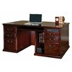 kathy ireland Home by Martin Furniture Huntington Club Executive Desk