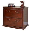 kathy ireland Home by Martin Furniture Huntington Club 2-Drawer Lateral File Cabinet