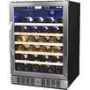 NewAir 52 Bottle Single Zone Built-In Wine Refrigerator