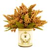 Creative Displays, Inc. Gold Astilbe French Bee Decoupage Pot
