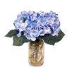 Creative Displays, Inc. Spring Additions Blue Hydrangeas in Acrylic Water Mason Jar