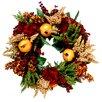 Creative Displays, Inc. Pomegranate Harvest Floral Wreath