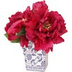 Creative Displays, Inc. Peony Cluster in Chinoiserie Vase