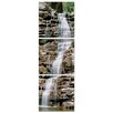 Artistic Bliss Vertical Waterfalls Photographic Print (Set of 3)