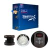 Steam Spa SteamSpa Indulgence 4.5 KW QuickStart Steam Bath Generator Package in Oil Rubbed Bronze