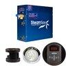 Steam Spa SteamSpa Indulgence 7.5 KW QuickStart Steam Bath Generator Package in Oil Rubbed Bronze