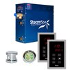 Steam Spa SteamSpa Royal 9 KW QuickStart Steam Bath Generator Package in Polished Chrome