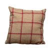 Ragon House Collection Tan Flannel Wool Throw Pillow