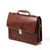 Floto Imports LDA1034Cortona Leather Laptop Briefcase