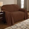 Innovative Textile Solutions Coral Polyester Fleece Loveseat Slipcover