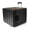 """CH Ellis 12"""" Rolling Rotational Mold Foam Filled Case in Black"""
