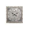 "CKK Home Décor, LP Heartland Old South 20"" Metal Square Wall Clock"