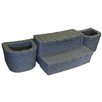 AquaRest Spas Deluxe Storage Step with Planters