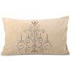 Fox Hill Trading Chandelier Lumbar Pillow