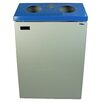 Frost Products 45-Gal Two Stream Wall Mounted Multi Compartment Recycling Bin