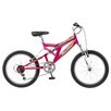 "Pacific Girl's 20"" Shire Full Suspension Mountain Bike"