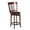 "Hillsdale Furniture Canton 25"" Swivel Bar Stool with Cushion"