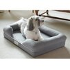 """PetFusion PetFusion Ultimate Dog Bed & Lounge Premium Edition with Solid 4"""" Memory Foam"""
