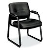 Basyx by HON VL690 Series Leather Guest Chair