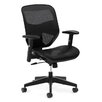 Basyx by HON High-Back Mesh Task Office Chair with Adjustable Arms