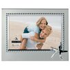 """Malden 4"""" x 6"""" Starfish Beaded Metal Picture Frame"""
