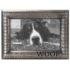 "Malden 4"" x 6"" Woof Modern Words Picture Frame"