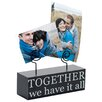 Malden 2 Photo Together We Have It Picture Frame