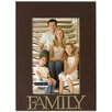 """Malden 4"""" x 6"""" Family Rustic Nails Picture Frame"""
