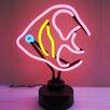 Neonetics Angelfish Neon Sculpture