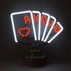 Neonetics Bar & Game Room Royal Flush Poker Neon Sign
